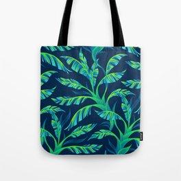 Paradise Leaves - Green Tote Bag