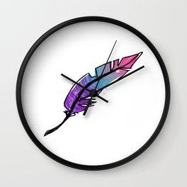 Feather Fancy Wall Clock
