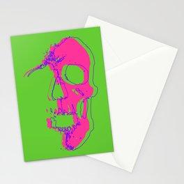 Skull - Pink Stationery Cards