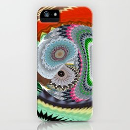 Some Superabstractique 2 iPhone Case