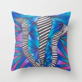 What's Up Wit' Dat' - Mazuir Ross Throw Pillow