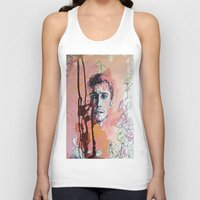 james franco Tank Tops featuring James Franco by Katarzyna Typek
