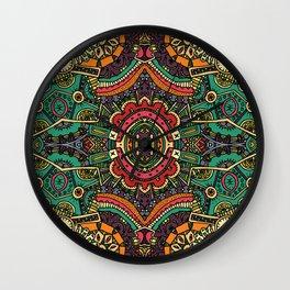 Boho pattern II Wall Clock