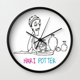 Hari Potter Wall Clock