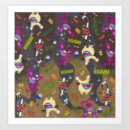 Aaahh real monsters krumm oblina ickis nickelodeon Art Print