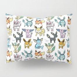 Eeveelution Doodle Pillow Sham