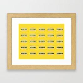 Burgers Framed Art Print