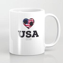 USA Soccer Shirt 2016 Coffee Mug