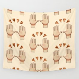 Pizza Praise Wall Tapestry