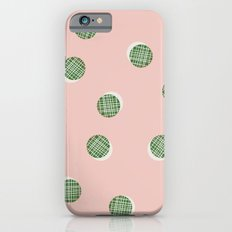 Mixed Dots - in Peach iPhone 6s Slim Case