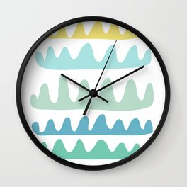 sea fans Wall Clock