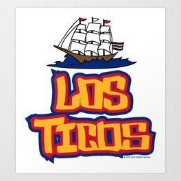 Costa Rica Los Ticos ~Group E~ Art Print