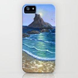 Serenity, beautiful evening iPhone Case