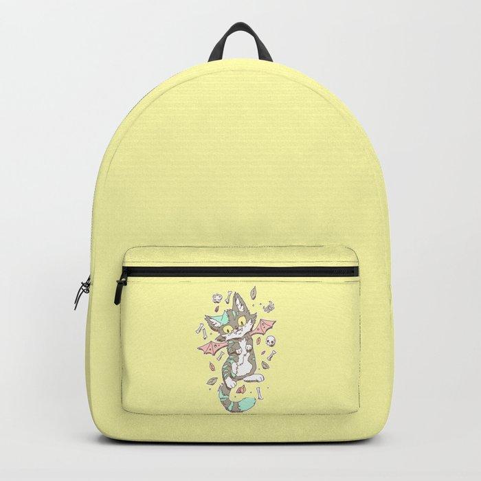 Monster Cat Backpack