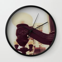 Old Fashioned Lamps Wall Clock