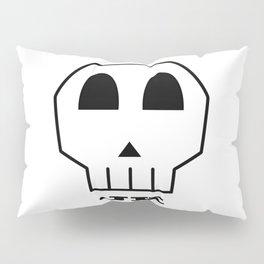 JK Skull Pillow Sham