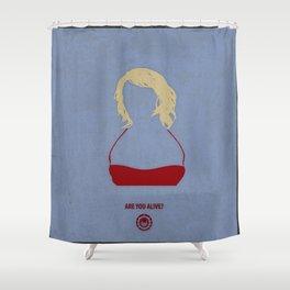 Caprica Six Shower Curtain
