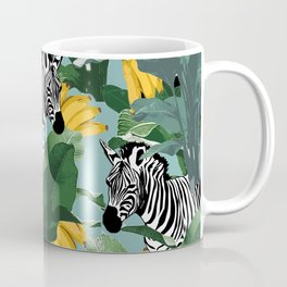 Zebra In jungle Coffee Mug