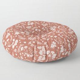 Materia Medica - Rust Floor Pillow