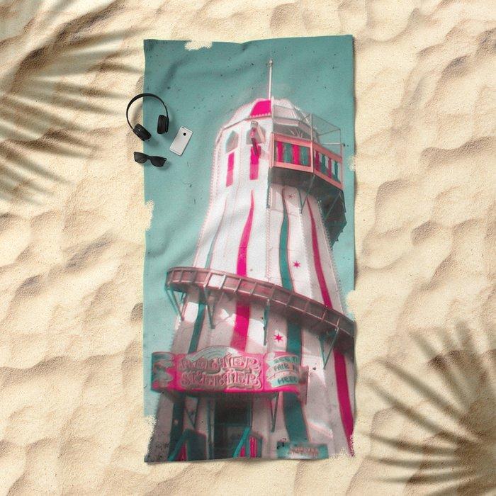 Helter Skelter Beach Towel