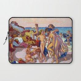 12,000pixel-500dpi - Maurice Denis  - Bacchus And Ariadne - Digital Remastered Edition Laptop Sleeve