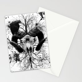 Wings and Horns of Death Stationery Cards