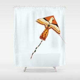 Fly free as an Eagle Shower Curtain