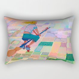 Farmer Flygirl Rectangular Pillow