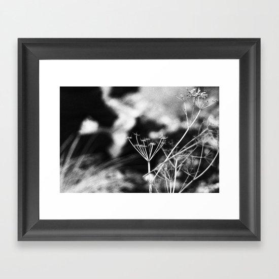 fehmarn. Framed Art Print