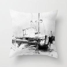 Pirates of the Baltic-sea Throw Pillow