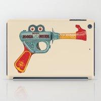gun iPad Cases featuring Gun Toy by Florent Bodart / Speakerine