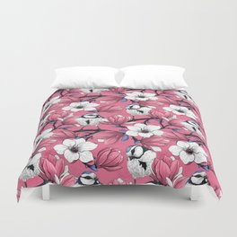 Spring time in pink Duvet Cover