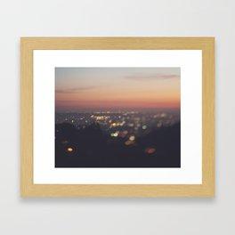 Los Angeles. Everyone's A Star No.2 Framed Art Print