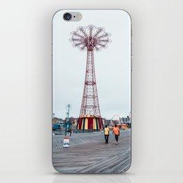 Coney Island: Parachute Jump iPhone Skin