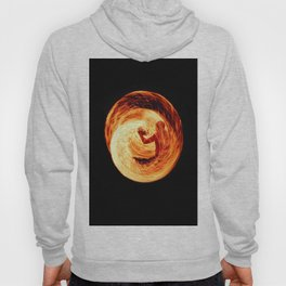 Fire Egg with Man Inside Hoody