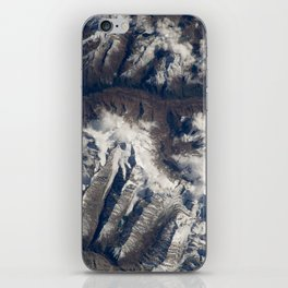 HIMALAYAS from International Space Station iPhone Skin