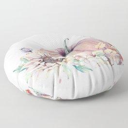 Autumn Pumpkin Floor Pillow