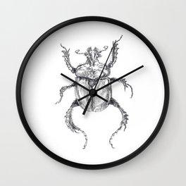 European Rhinoceros Beetle Wall Clock