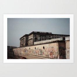 The Berlin Wall, 1991 Art Print