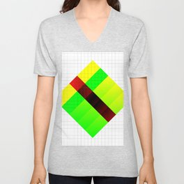 Vapor composition one Unisex V-Neck