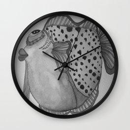 MOE B/W Wall Clock