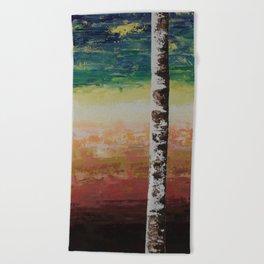 Confusion & Color Beach Towel