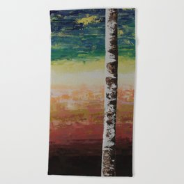 Confusion & Color Beach Towel