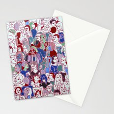 The crowd Stationery Cards