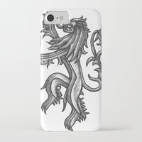 lannister iPhone & iPod Cases featuring A Lannister Always Pays His Debts by Michael Wybrow