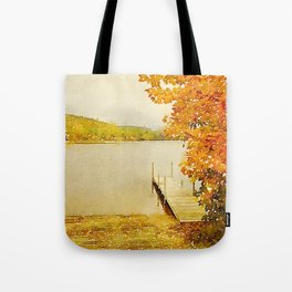 Crystal Lake, Maine Tote Bag