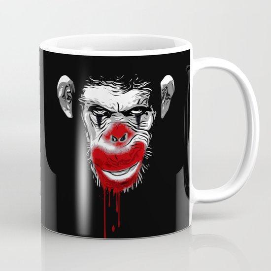 Evil Monkey Clown Mug