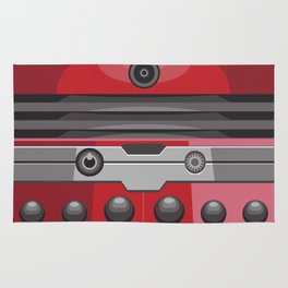 Dalek Red - Doctor Who Rug
