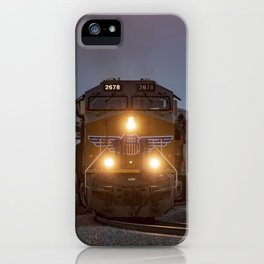 Twilight Freight Train iPhone Case