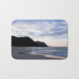 Secluded Beach in Hawaii Bath Mat